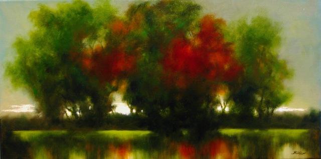 , 'Autumn Sentinels ,' ca. 2018, Copley Society of Art