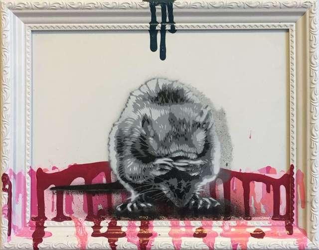 , 'Rat Hiding,' 2018, NextStreet Gallery