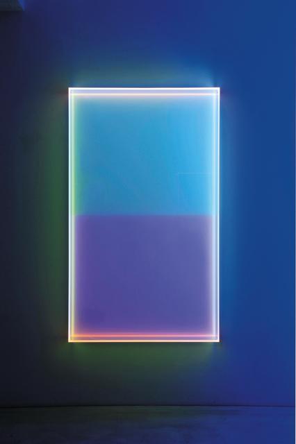 , 'Colormirror soft blue horizontal Milan,' 2018, Dep Art Gallery