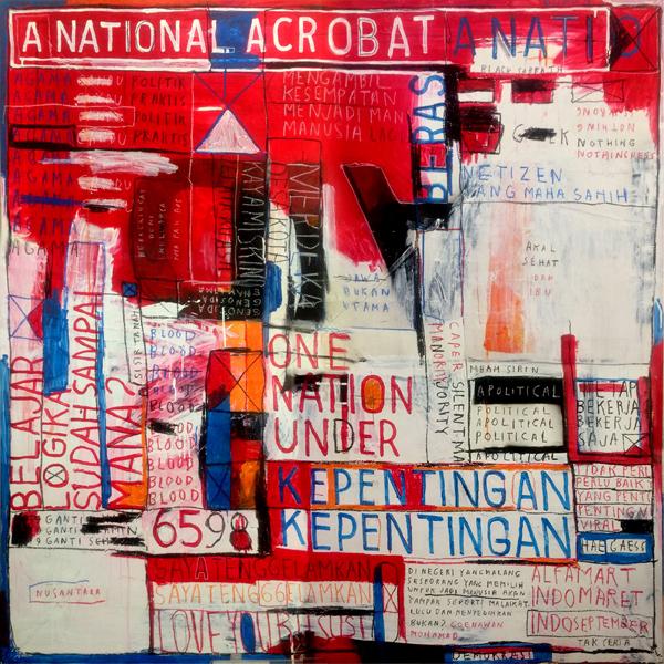 , 'A National Acrobat,' 2018, Mizuma Art Gallery