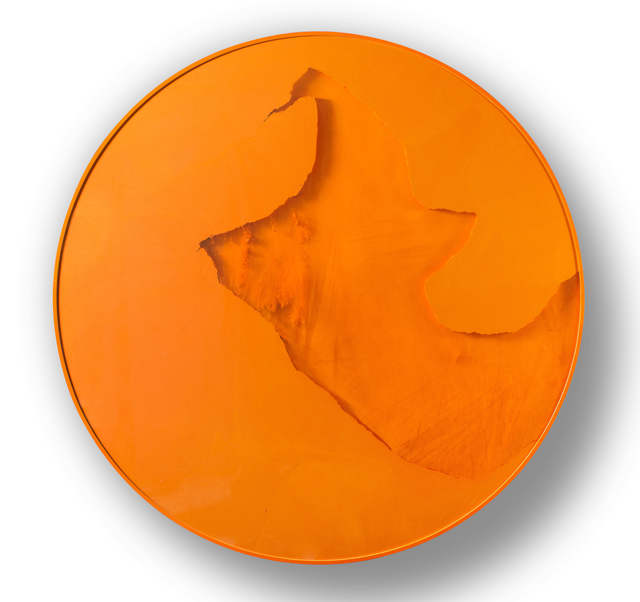 , 'Cercle Orange,' 2014, Heather Gaudio Fine Art