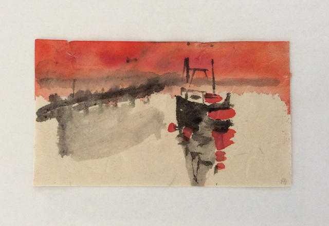 , 'Wharf,' 2014, Albert Merola Gallery