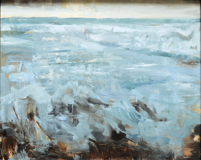 Quang Ho, 'Pacific Waters', 2008, Painting, Oil, Gallery 1261