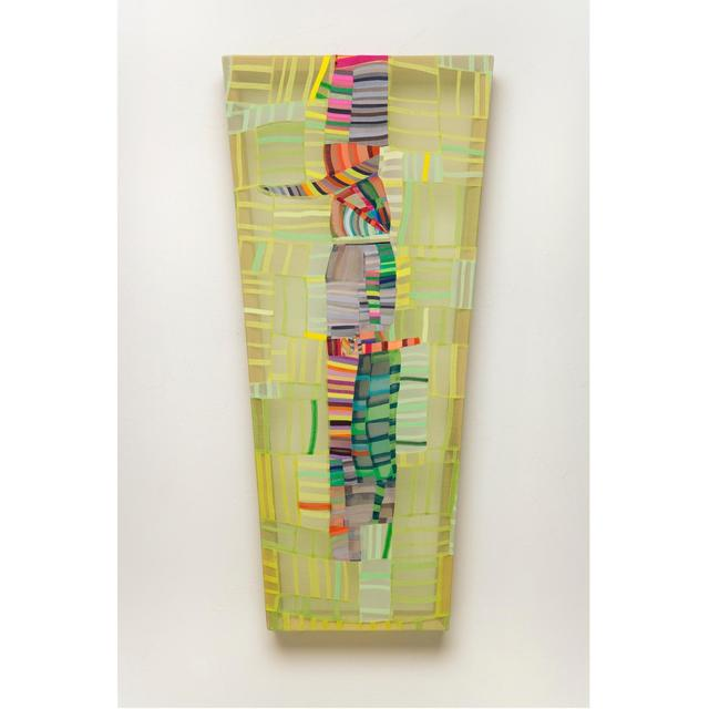 , 'Lime Multi Scrap,' , Exhibit by Aberson