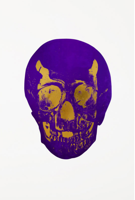 Damien Hirst, 'The Dead - Imperial Purple/Oriental Gold', 2009, DTR Modern Galleries