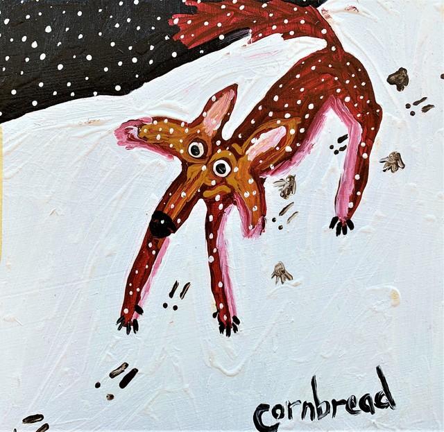 Cornbread, 'tracking rabbott', 1998, Redbud Gallery