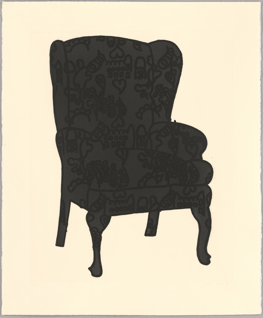 , 'Black Love Chair,' 2006, Sims Reed Gallery