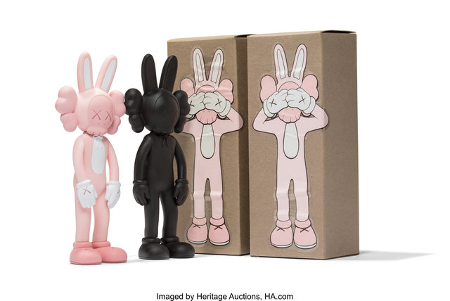 KAWS, 'Accomplice, set of two', 2002, Heritage Auctions