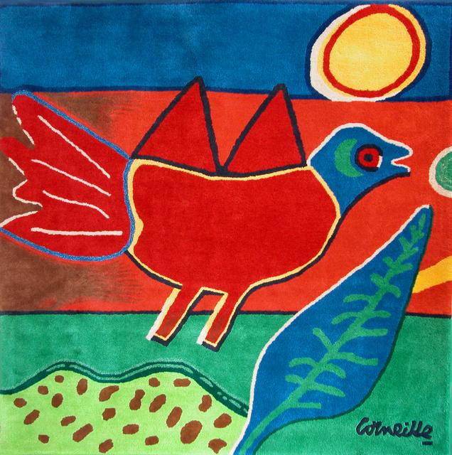 "Guillaume Corneille, 'limited edition carpet ""Oiseau Rouge""', 2009, Galerie Estampe"