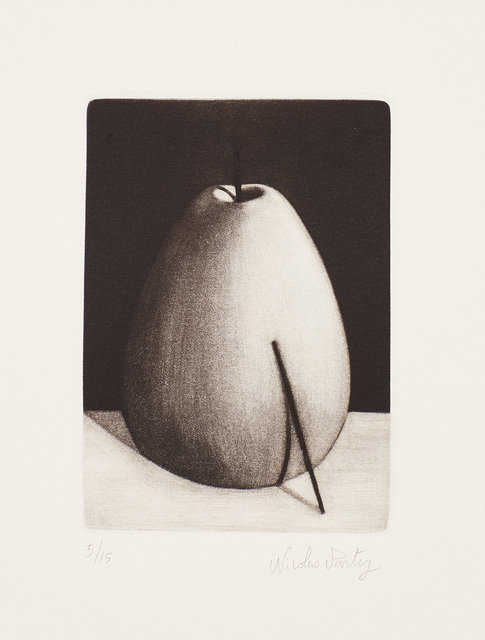 Nicolas Party, 'Fruit with Stick', 2016, Print, Mezzotint, on wove paper, with full margins., Phillips