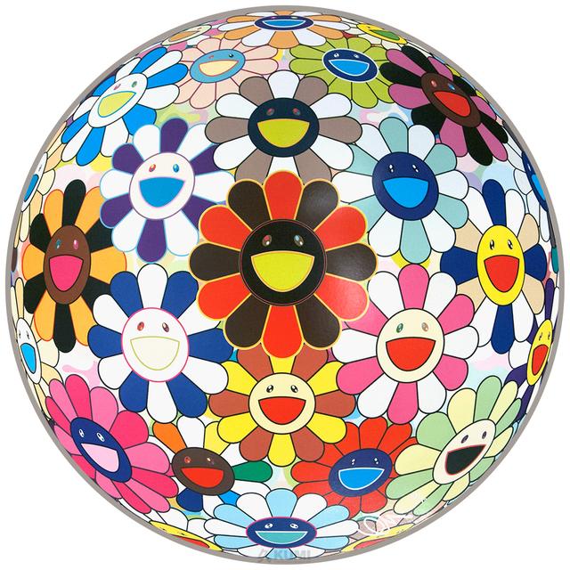 Takashi Murakami, 'Flower Ball (Lots of Colors)', 2013, Kumi Contemporary / Verso Contemporary