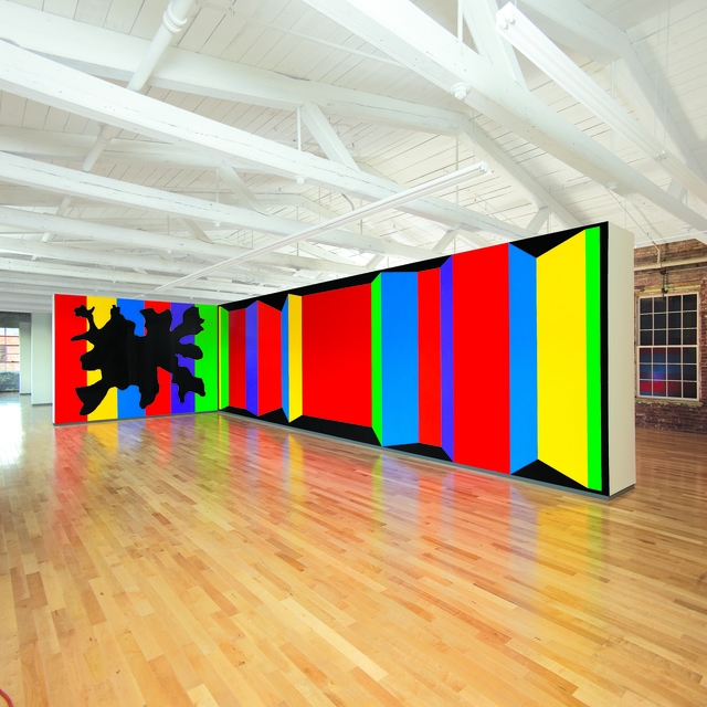 , 'Wall Drawings #901 and #1081 ,' 1999, MASS MoCA