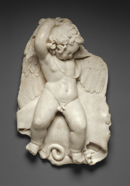 'Statuette of a Sleeping Cupid', 50 - 100, J. Paul Getty Museum