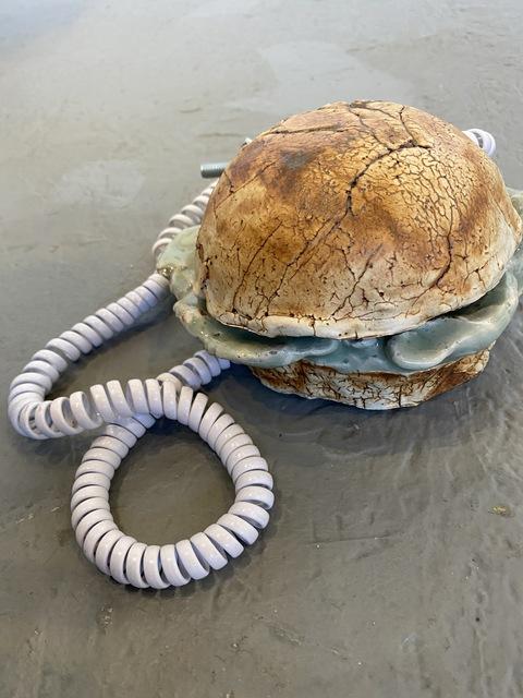 Julia Jalowiec, 'Hamburger Flip Phone', 2019, Ro2 Art