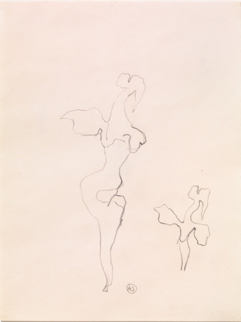 , 'Sketch for the Sculpture 'Woman-Rose',' 1959, Galerie Isabella Czarnowska