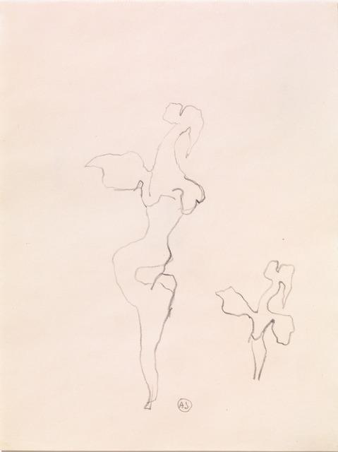 , 'Sketch for the Sculpture 'Woman-Rose',' 1959, Galerie Isabella Czarnowska
