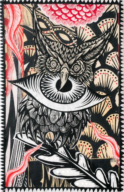 , 'Owl Medicine,' 2018, Paradigm Gallery + Studio