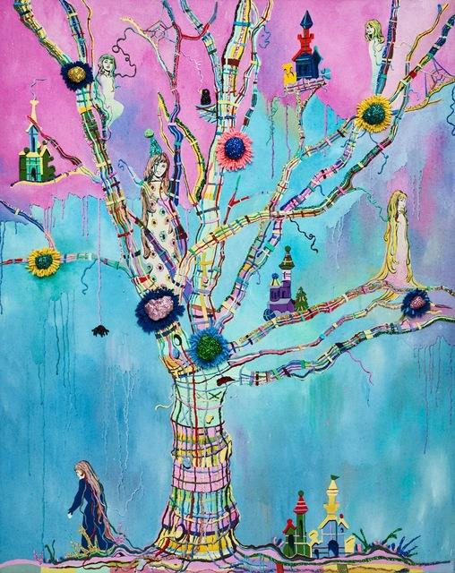 , 'Rapunzel,' 2015, Galerie Dukan