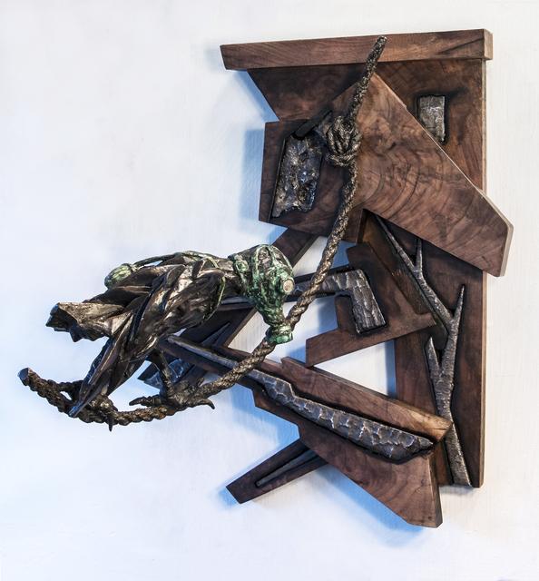 , 'Stahlhartes Gehäuse: Tightrope Walker,' 2016, BoxHeart