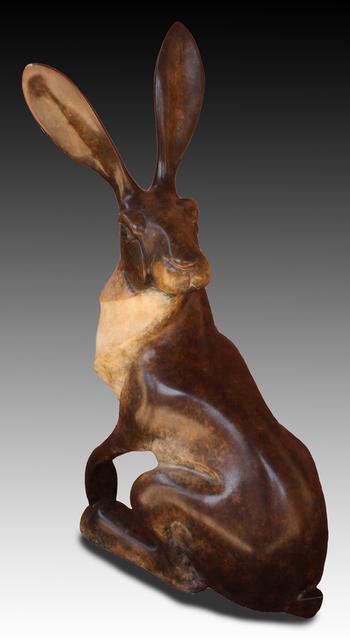 , 'Sitting Jack Rabbit,' 2017, Mark White Fine Art