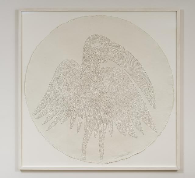 , 'I am Ahiamen-oro, the bird of prophecy,' 2017, Tyburn Gallery