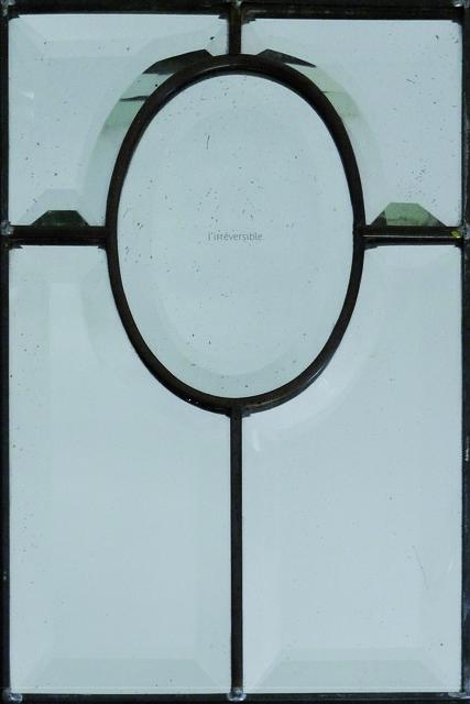 , 'Objet modifié (miroir artisanal),' 2014, s o b e r i n g