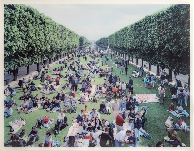 Massimo Vitali, 'Picnic Allee (Image #26) from Landscapes with Figures', 2006, RoGallery