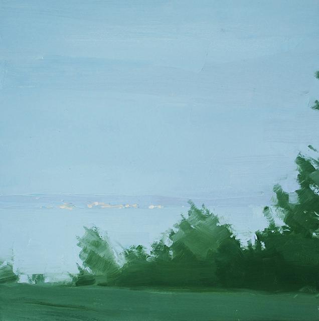 , 'Across the Water, Evening,' 2014, Kathryn Markel Fine Arts