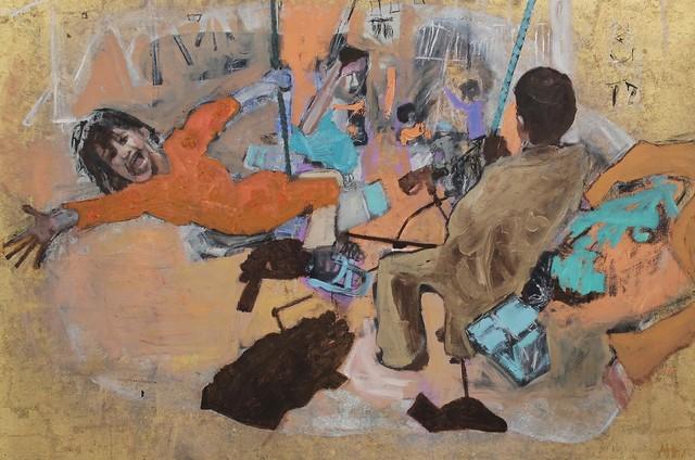 , 'Swing,' 2018, Castlegate House Gallery
