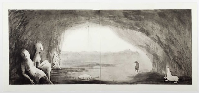 Deborah Bell, 'She Wolf', 2017, Print, Spitbite aquatint and drypoint, David Krut Projects