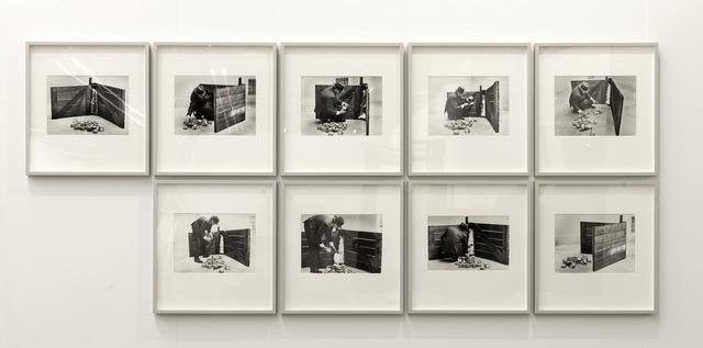, 'Das Schweigen von Marcel Duchamp wird überbewertet, Ausstellung Sammlung Ströher, Neue Pinakothek München, I,' 1968, BASTIAN