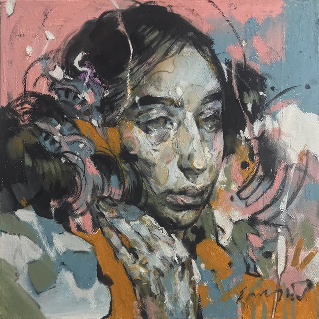, 'Portrait of Olive,' 2018, Spoke Art