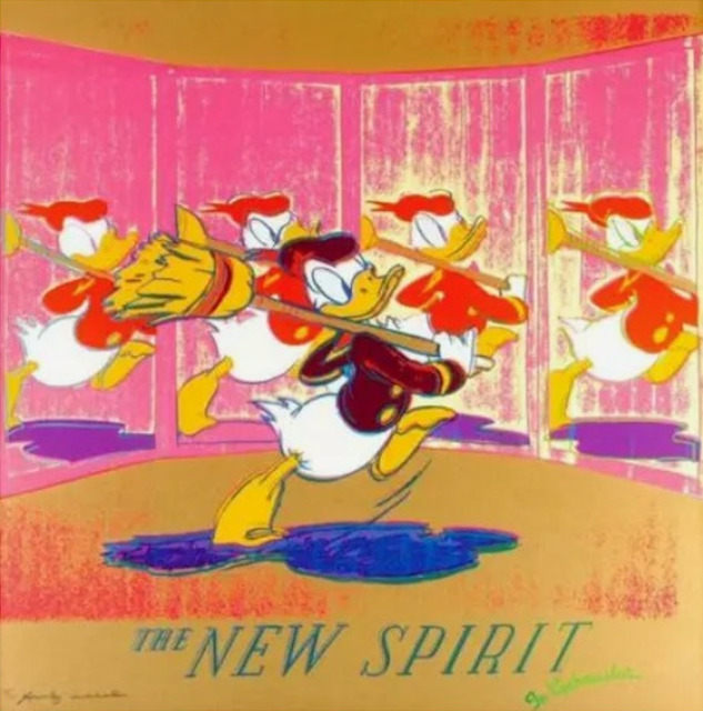 Andy Warhol, 'The New Spirit (Donald Duck) F.S. II 357', 1985, Other, Screen print, Lush Art Agency