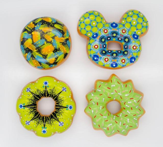 , 'Green Donuts,' 2018, Lyons Wier Gallery