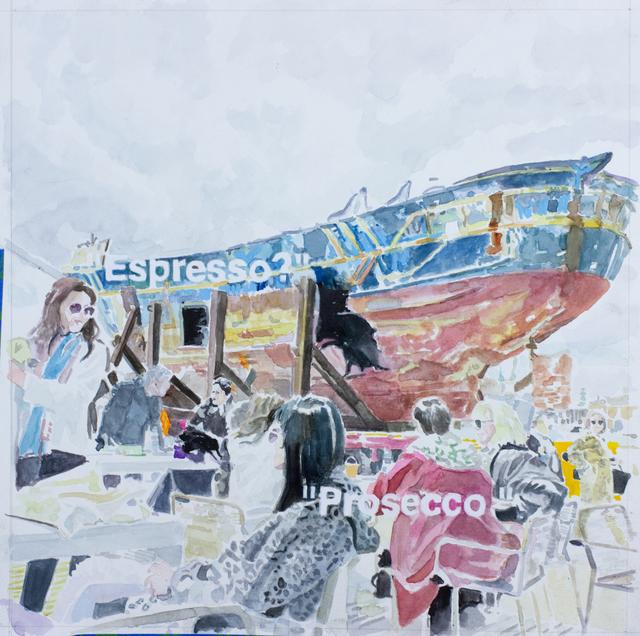 William Powhida, 'Barca Nostra (Venice Biennale)', 2019, Postmasters Gallery