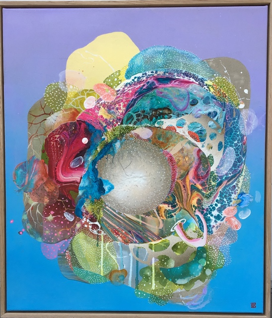 , 'Celestial Pudding ,' 2018, Miller Gallery Charleston