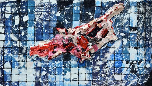 Heidi Neff, 'Skin Grid', 2017, Painting, Acrylic on canvas, Amos Eno Gallery