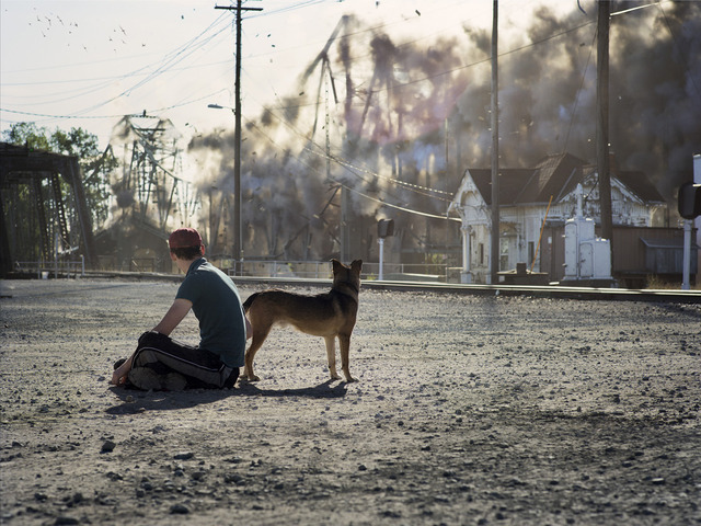 Peter Funch, 'Man and Dog,' 2013, V1 Gallery