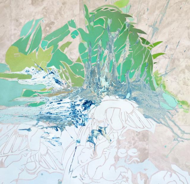 , 'Green Smoke, No Joke,' 2016, Linda Matney Gallery