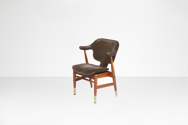 ", 'Single armchair, model ""Domus Deluxe"",' 1960, Side Gallery"