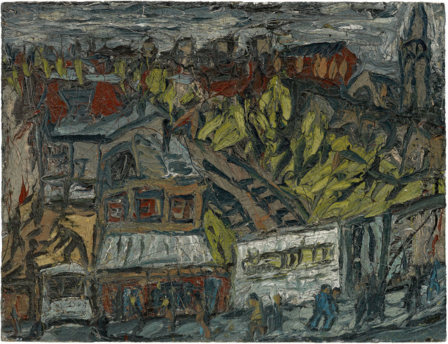 , 'View of Hackney with Dalston Lane, Dark Day,' 1974, Annely Juda Fine Art
