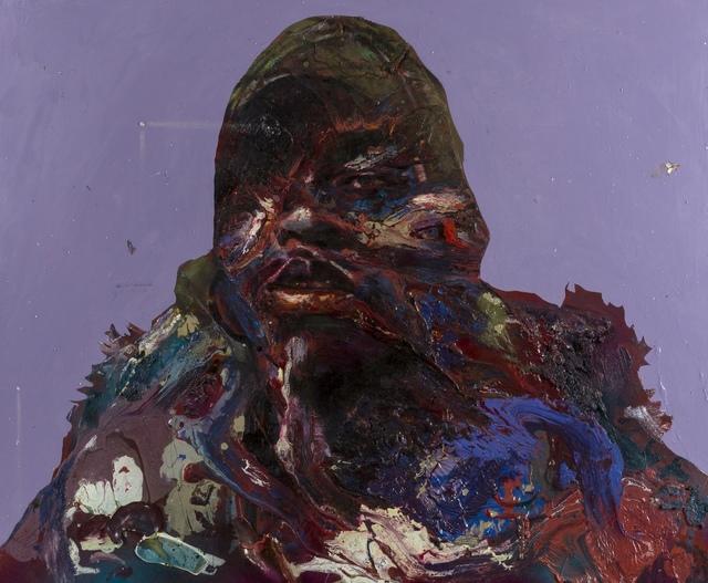 Matt Small, 'Girl', 2007, Mixed Media, Mixed media on metal, Forum Auctions