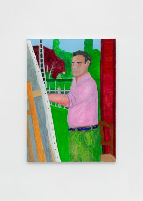 , 'Self Portrait, rue de la Fontaine,' 2018, Richard Taittinger Gallery