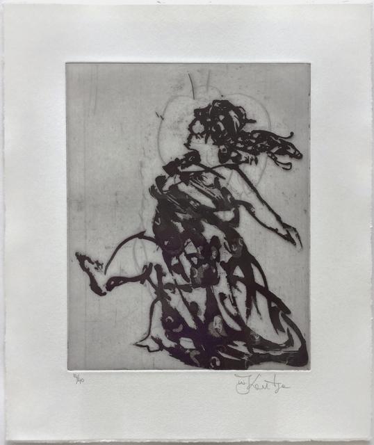 William Kentridge, 'Lady (Xeno at 2am)', 2001, Jim Kempner Fine Art