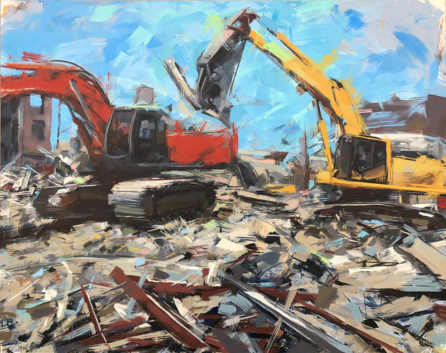 Austin Matthews, 'Abstraction/Obstruction, #3 ', 2019, William Matthews Studio