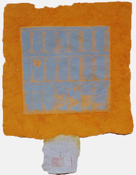 Robert Rauschenberg, 'Hind', 1973, Print, Handmade paper, pigment, and screenprinted tissue laminated to paper pulp, Gemini G.E.L. at Joni Moisant Weyl