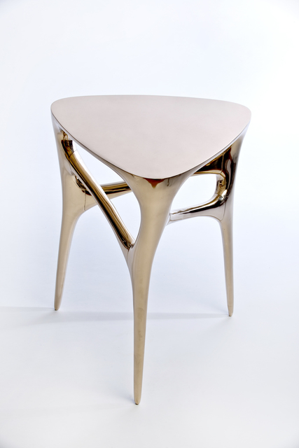 Timothy Schreiber, 'Methodology Table', 2015, Design/Decorative Art, Cast and polished bronze, Wexler Gallery