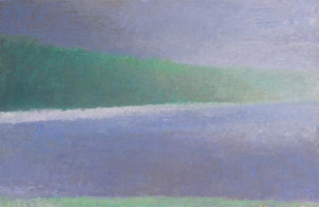 Wolf Kahn, 'Imaginary Shoreline on a Lake', 1986, Cavalier Ebanks Galleries