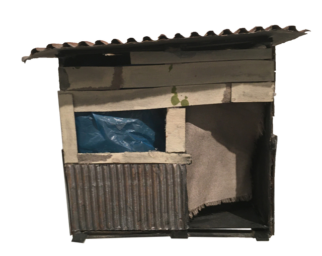 , 'Dumpster Digging Refrigerator Box,' 2020, BoxHeart