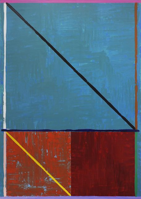 Michael Johnson (b. 1938), 'Baugin Cattai', 1982, Painting, Acrylic on canvas, Charles Nodrum Gallery